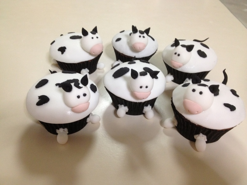 Pin Cow Cupcakes Cupcake Obsession Cake On Pinterest