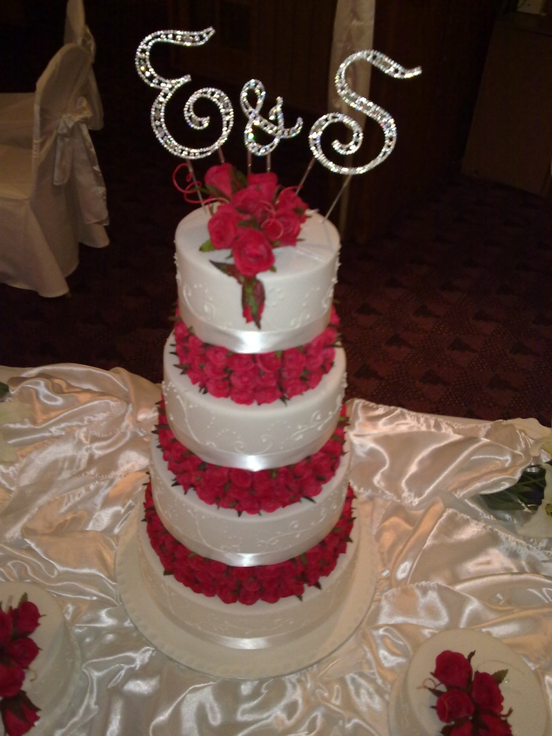 Large  Tiered Cake Handmade Cost