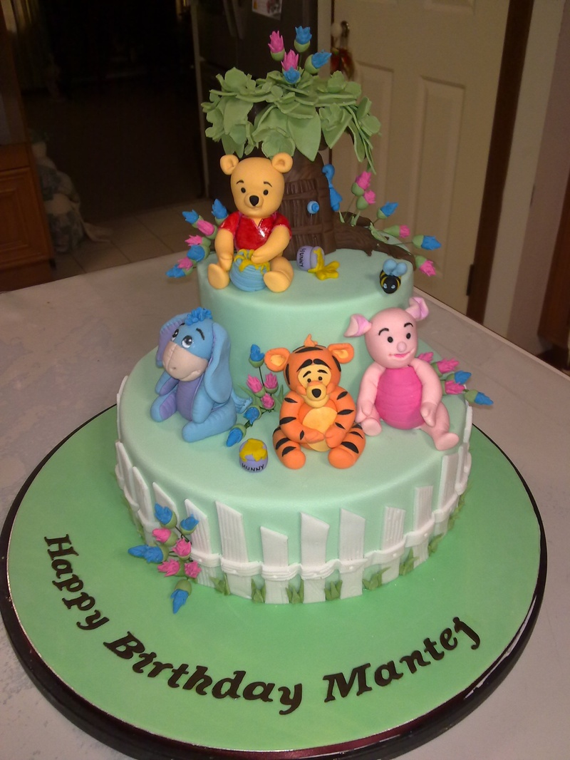 Winnie The Pooh Friends Party For Mantej